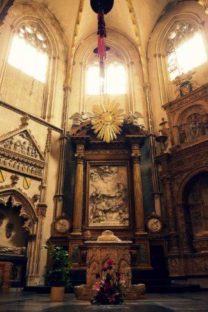 Altar in der Kathedrale von Toledo