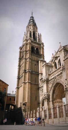 Glockenturm der Kathedrale von Toledo