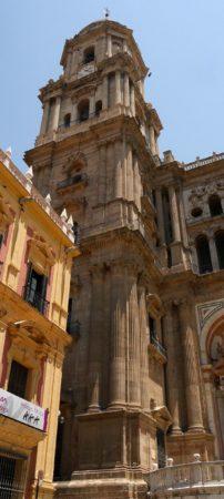 Vollendeter Turm der Kathedrale von Malaga