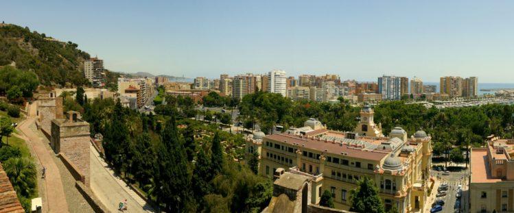 Malaga mit der Stierkampfarena