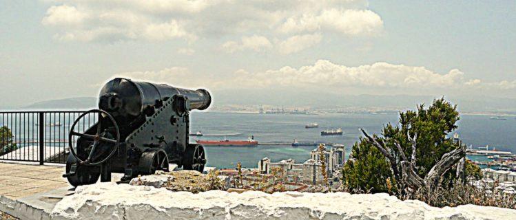 Kanone auf Gibraltar
