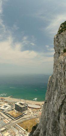 Panorama - Felsen von Gibraltar