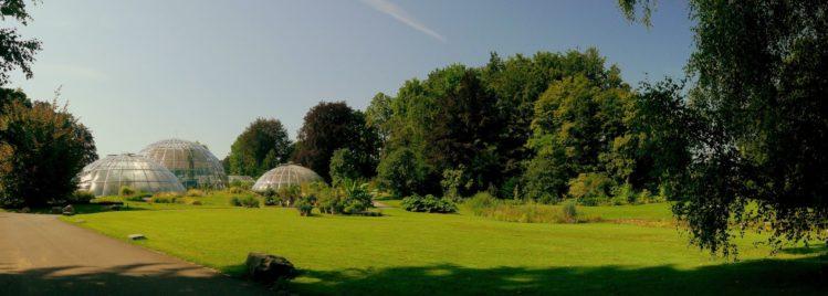 Tropenhäuser des Botanischen Garten von Zürich