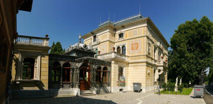 Villa Patumbah in der Zollikerstrasse 128 in Zürich