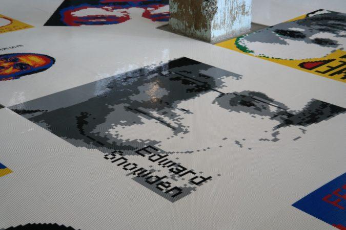 Edward Snowden auf Alcatraz