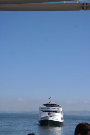Alcatraz Cruises - Überfahrt nach Alcatraz