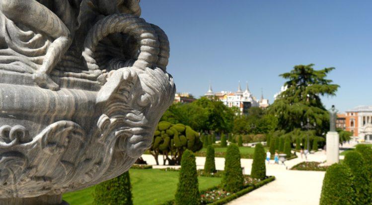 Skulptur im Retiro Park