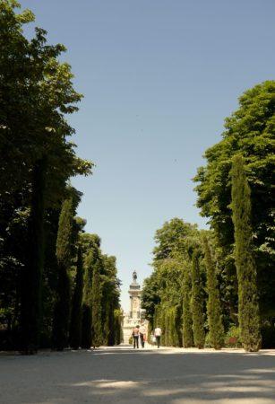Alle mit Blick auf Monument für Alfons XII.