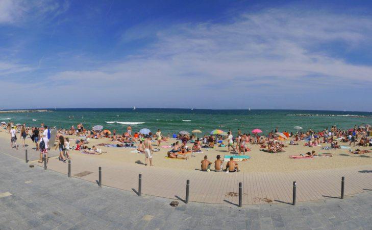 Strand von Barcelona - Barceloneta