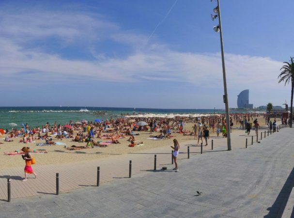 Barceloneta in Barcelona