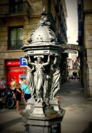 Barcelona - La Rambla - Passatge de la Banca