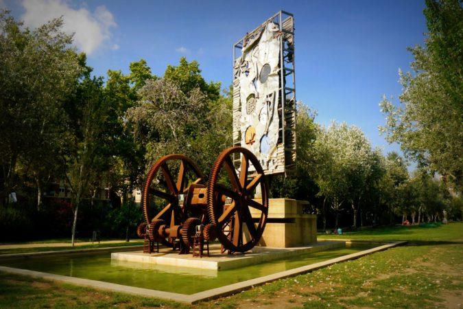Skulptur im Parc de la Ciutadella