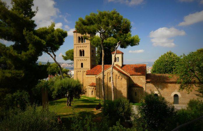 Kloster im Poble Espanyol in Barcelona