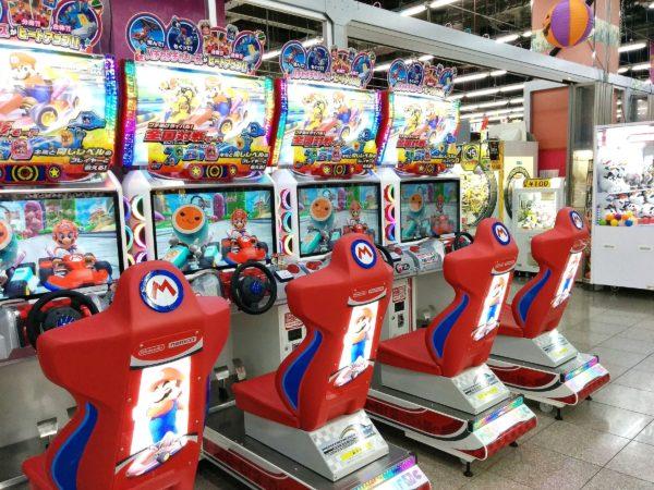 Mario Kart Spielautomaten