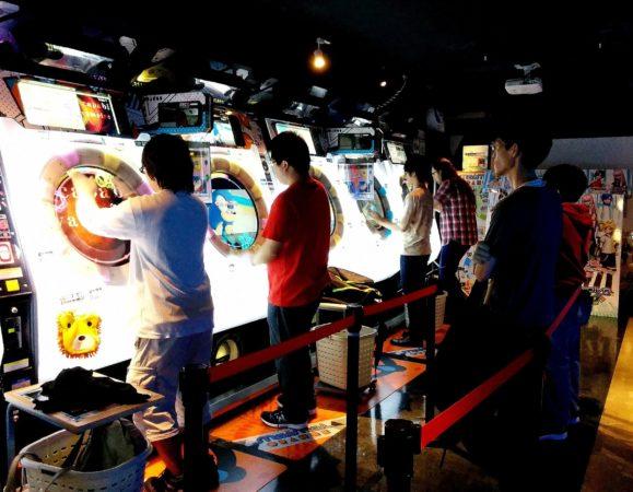 Reaktionspielautomaten