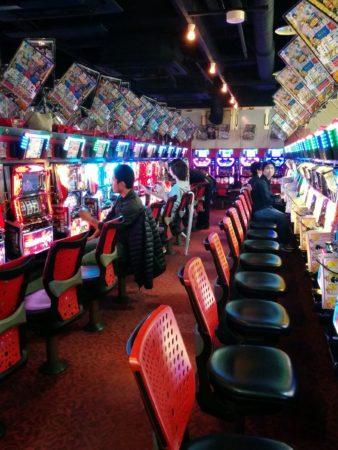 Geldspielautomaten in Tokio