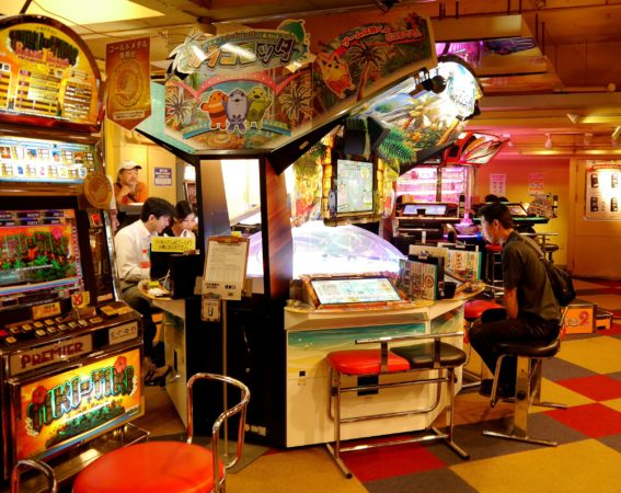 Glücksradspielautomat