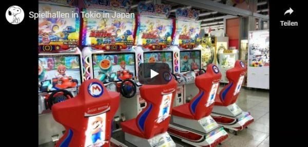 Video Spielhallen in Japan