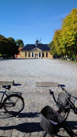 Das Kastell von Kopenhagen. Fünfsternige Anlage auf einem der wenigen Hügelchen in Kopenhagen. Da meint man fast aus der Puste zu kommen!