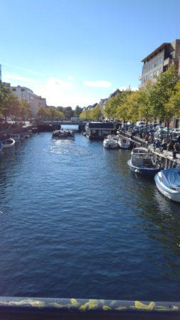 ein romantischer Kanal in Kopenhagen