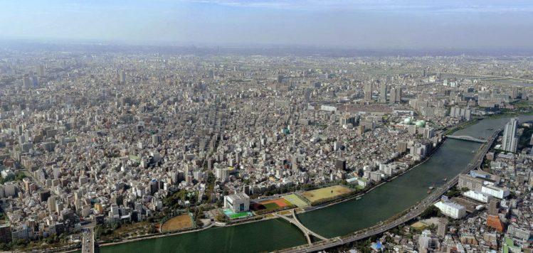 Tokio Skyline vom Tokyo Skytree