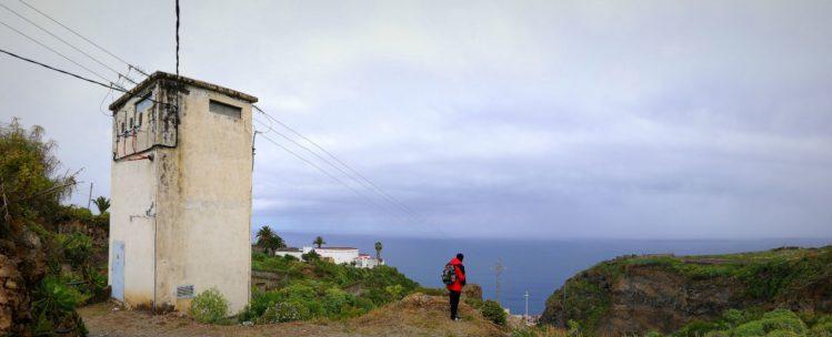 Panorama vom Einstieg in den kleinen Abstiegsbarranco