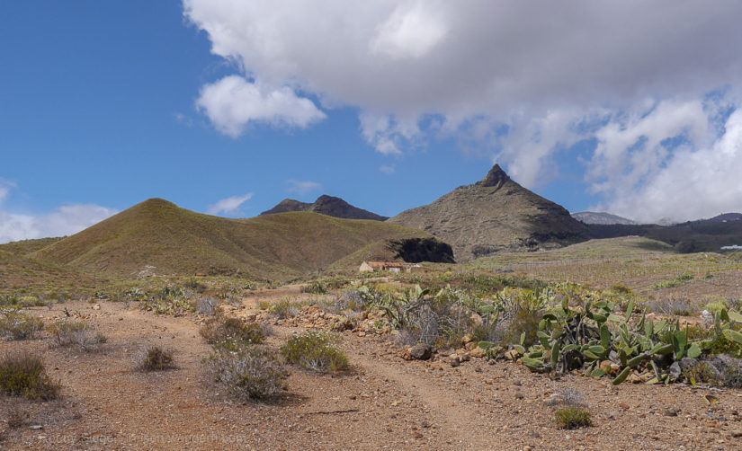 Wanderweg zum Roque del Conde
