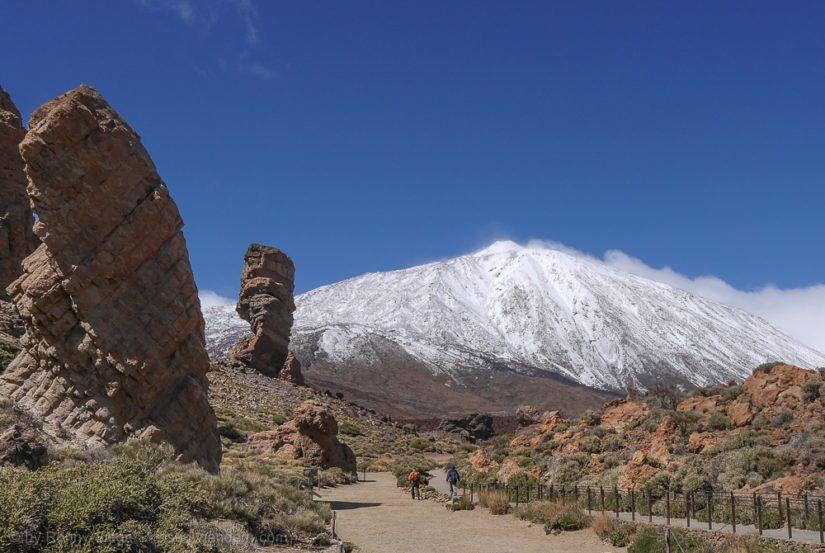 Roque Cinchado in der Caldera des Teide