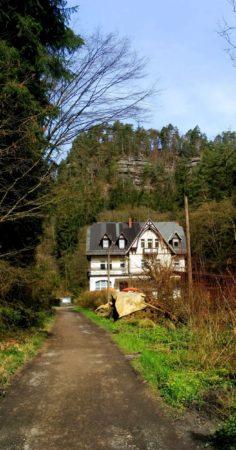 Die Waltersdorfer Mühle im Polenztal