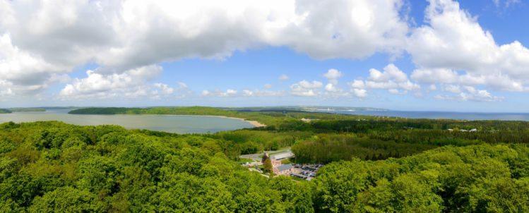 Panorama von Rügen mit Blick nach Norden
