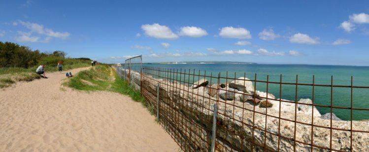 Panorama der geplanten Strandpromenade in Prora auf Rügen