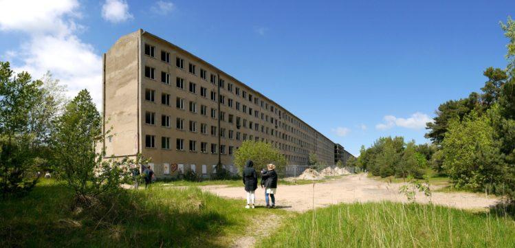 Häuserkomplex des KdF in Prora