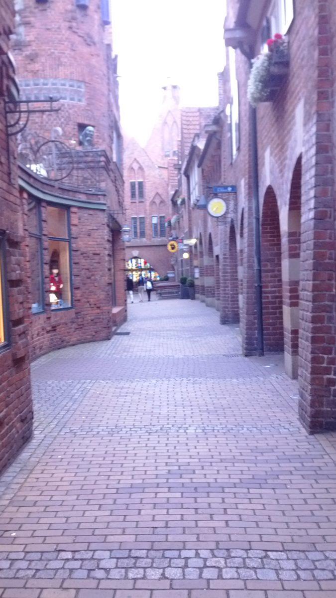 Schildergasse in Bremen.