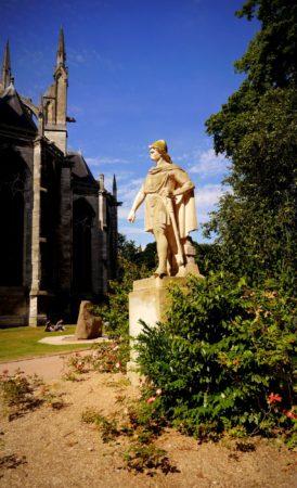 Statue von Rollo, dem ersten Herzog von Rouen