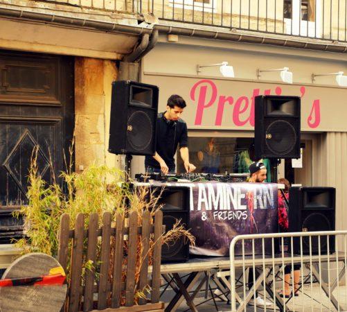 DJ zur Sommersonnenwende in Caen