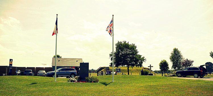 Eingang zur Artilleriebatterie von Merville