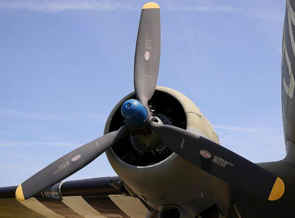 Rotor einer Douglas C-47