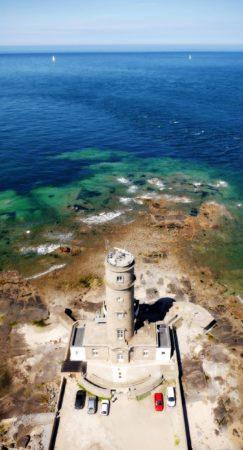 Leuchtturm und Meer