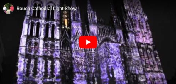 Video von der Lightshow in Rouen
