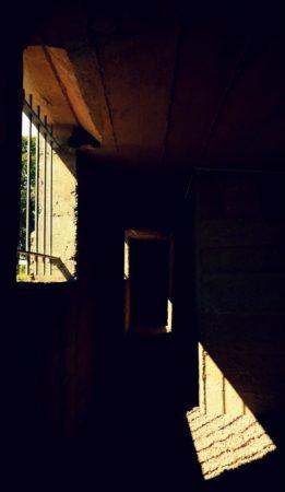 Fluchtfenster in einem Bunker aus dem 2. Weltkrieg