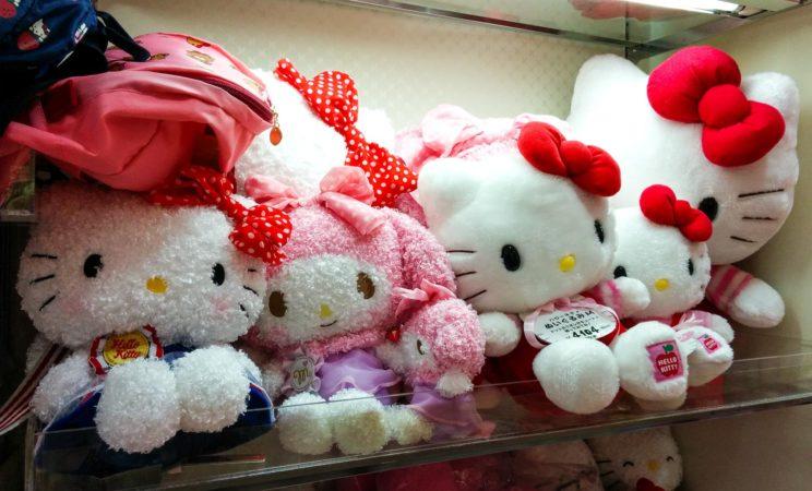 Hello Kitty Plüschfiguren