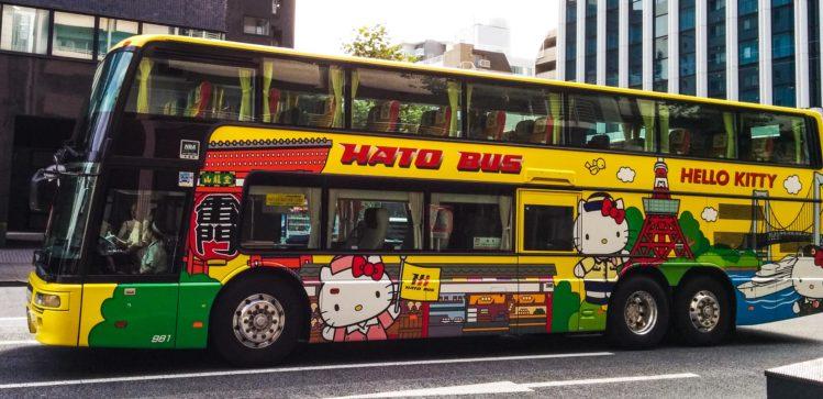 Hello Kitty Bus