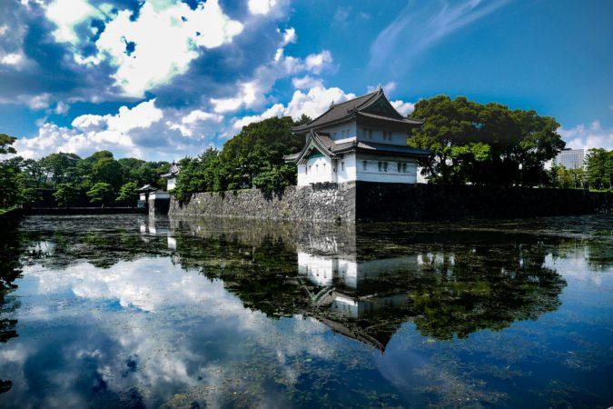 Japanisches Wachhaus beim Kaiserpalast