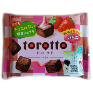 Schokolade mit Erbeerfüllung