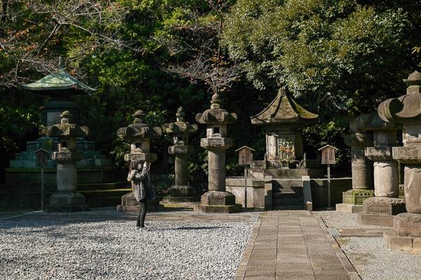 Tokugawa Gräber im Zōjō-ji Tempel