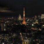 Tokyo Tower bei Nacht vom WTC