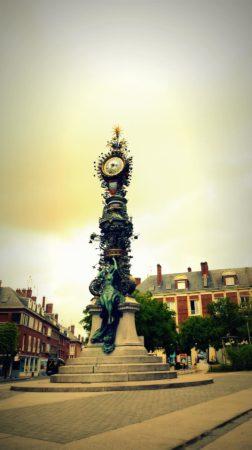 Brunnen in Amiens