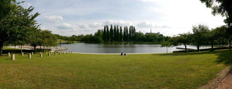 Parkanlage in Amiens