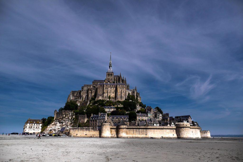 Foto: Le Mont-Saint-Michel aus der Nähe