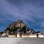 Le Mont-Saint-Michel aus der Nähe